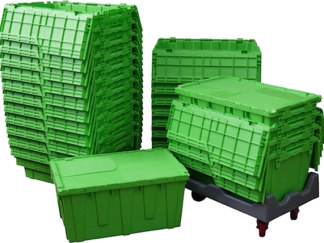 Leafy Moving Boxes
